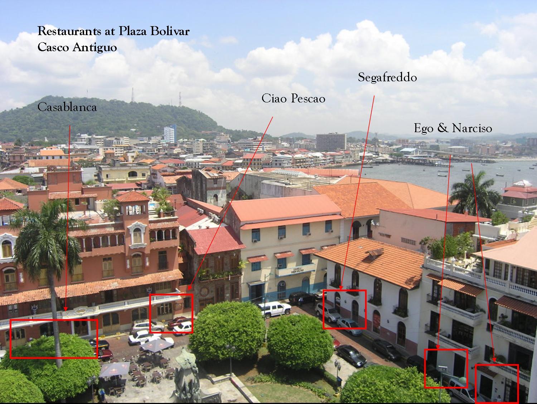 Plaza Bolivar Restaurants