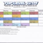 gym schedule