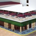 Baluarte Fasade rendering