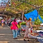 Casco Viejo shopping by Ken Milburn