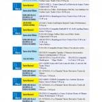 FAE 2012 Schedule