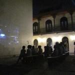 outdoors movies Casco Viejo