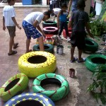painting tires 1
