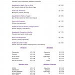 Da Vinci menu 1