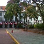flowery plaza