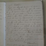 Clementina`s letter to Carlos