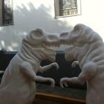 Dinosaurio en Casco Viejo