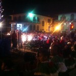 Outdoors concert Plaza Francia