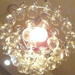 Veggie Moon chandelier