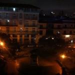 views from Panamericana at night