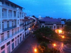 Plaza Herrera sunset 1
