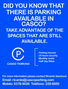 Casco Parking English