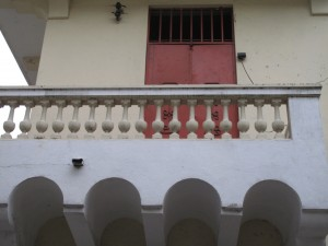 balcony arches