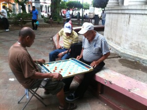 Santa Ana Old men playing