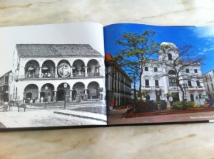 Casco Viejo before and after