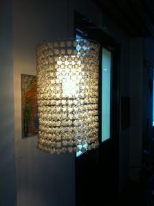 Michael Sager lamp casco viejo