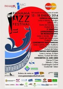 poster Panama Jazz Fest 2014