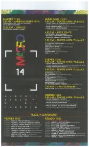 macro 2014 schedule