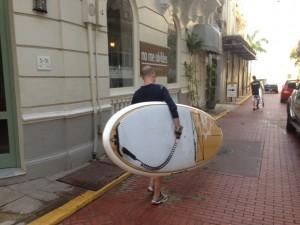 Paddle board Casco Viejo Panama