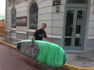 paddleboard casco viejo