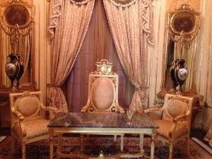 Casco Viejo ceremonial Presidents chair