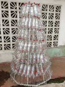 eco christmas tree plastic