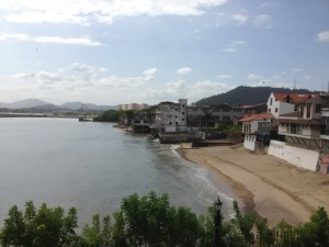 beach casco viejo
