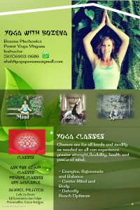 Bozena yoga at Sariel