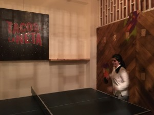 La Neta ping pong table