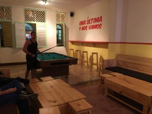 La Neta pool table