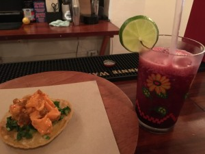 Tacos La Neta food