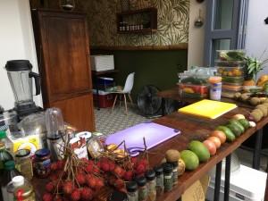 Raw Vegan workshop Mahalo