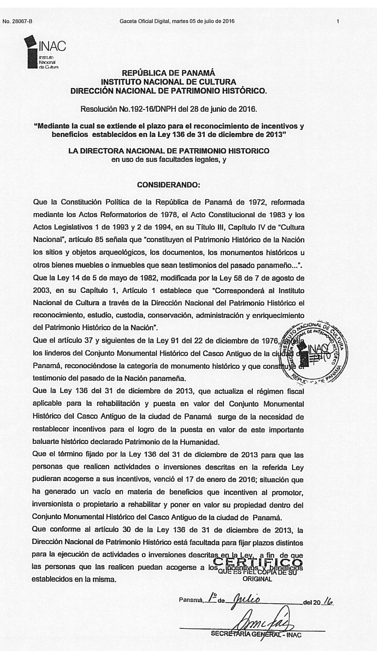 Patrimonio Histórico extiende incentivos para el Casco Antiguo ...