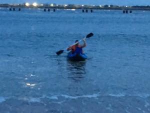kayak casco viejo