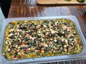 raw vegan paella