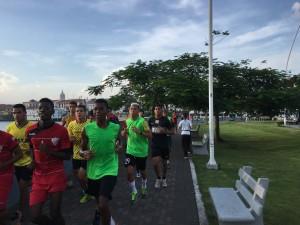 running Casco Viejo
