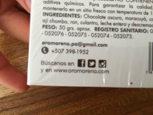 Oro Moreno Contact info